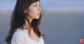 ユニクロ「ブラトップ 2016」CM、グラフィック 森絵梨佳