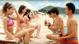 コカ・コーラ TV-CM「コールドサインボトル」篇