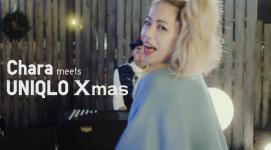 ユニクロのクリスマス webムービー Chara