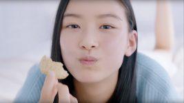 湖池屋 プライドポテト TVCM 芋の賛歌『神のり塩』篇 汐谷友希